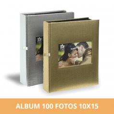 Álbum premium para 100 fotos 10x15 cm