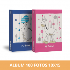 Álbum para bebe 100 fotos 10x15 cm
