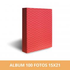 Álbum para 100 fotos 15x21 cm