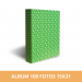 Álbum para 100 fotos 15x21 cm Rojo
