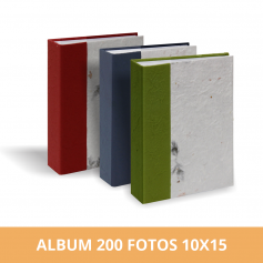 Álbum Diseño Hojas 200 fotos 10x15 cm
