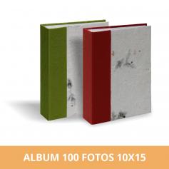 Álbum Diseño Hojas 100 fotos 10x15 cm