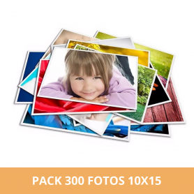 Pack 300 fotos 10x15