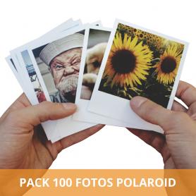 Pack impresión 100 fotos polaroid 10x8. Un clásico