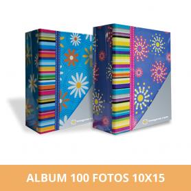 Álbum Spring para 100 fotos 10x15 cm