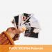 Impresión de 100 fotos mini Polaroid. Revelado en papel fotográfico