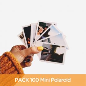 Pack 100 Mini Polaroid 6x9