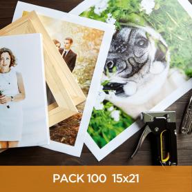 15x21 Imprimir 100 fotos