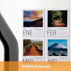 Foto calendario polaroid imantado 2020 10x8cm