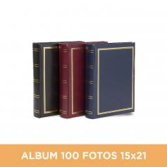 Álbum Clásico para 100 fotos 15x21 cm