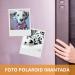 Impresión de fotos Polaroid imantadas. Revelado en papel fotográfico