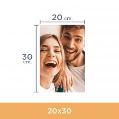 Impresión de fotos 20x30