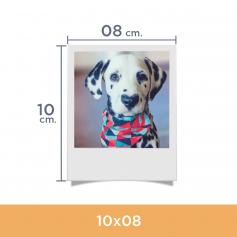 Impresión de fotos Polaroid. Revelado en papel fotográfico