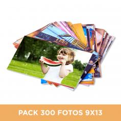 Pack 300 fotos en 9x13