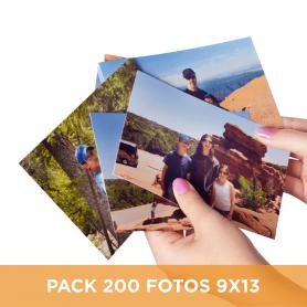 Pack 100 fotos en 9x13