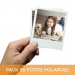 Pack 50 fotos Polaroid 10x8