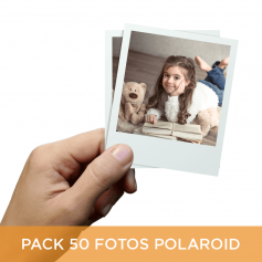Pack 50 fotos Polaroid 10x8