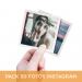 Pack 50 Fotos Instagram 10x10 cm.