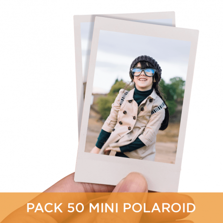 Pack 50 Mini Polaroid 6x9