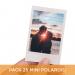Pack 25 Mini Polaroid 6x9