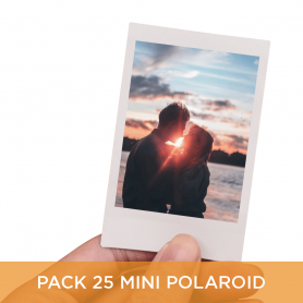 Pack 25 Mini Polaroid 6x9