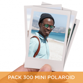 Pack 300 Mini Polaroid 6x9