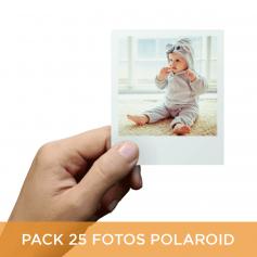 Pack 25 fotos Polaroid 10x8
