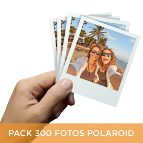 Pack 300 fotos Polaroid 10x8