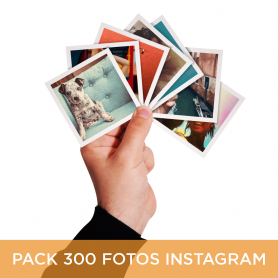 Pack 300 Fotos Instagram 10x10 cm.
