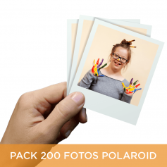 Pack 200 fotos Polaroid 10x8