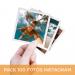 Pack 100 Fotos Instagram 10x10 cm.