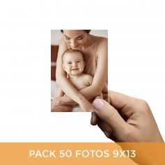Pack 50 fotos en 9x13