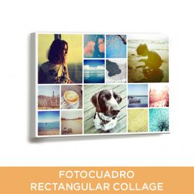 Fotocuadro Rectangular Collage