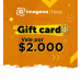 GIFT CARD x $2000