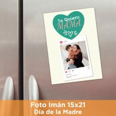 Foto Imán 15x21 Día de la Madre