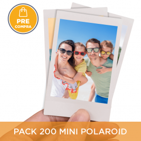PRECOMPRA Pack 200 Mini Polaroid 6x9