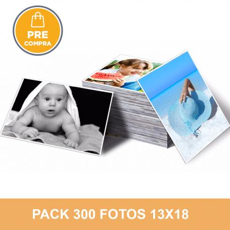 Pre-compra Pack 300 fotos 13x18