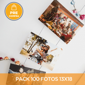 PRECOMPRA Pack 100 fotos 13x18
