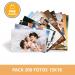 Pre-compra Pack 200 fotos 13x18