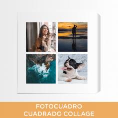 Fotocuadro Cuadrado Collage