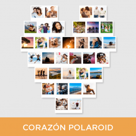 Kit Corazón Polaroid® Pack 20|34 fotos