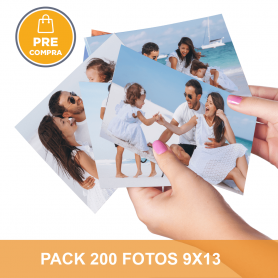 PRECOMPRA Pack 200 fotos 9x13