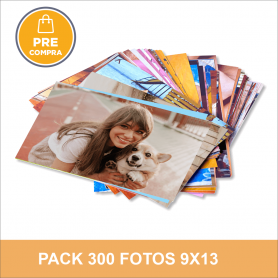 PRECOMPRA Pack 300 fotos 9x13