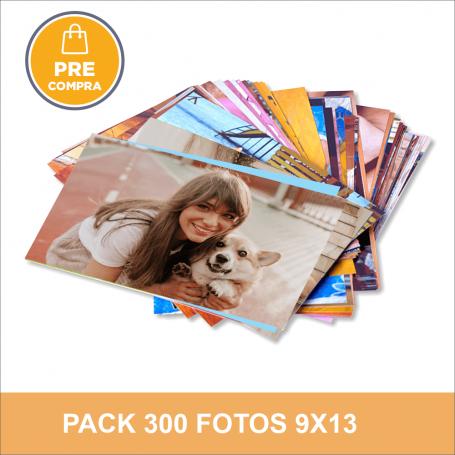 PRECOMPRA Pack 300 fotos 9x13