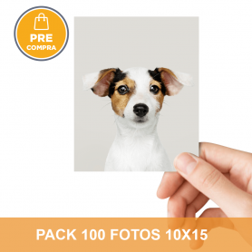 PRECOMPRA Pack 100 fotos 10x15
