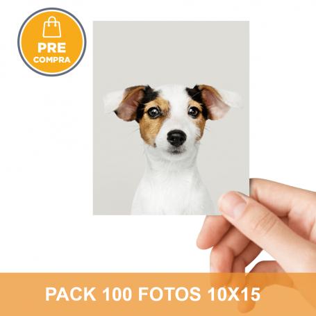 PRECOMPRA Pack 100 fotos 10x15
