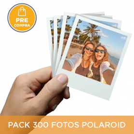 PRECOMPRA Pack 300 fotos Polaroid 10x8