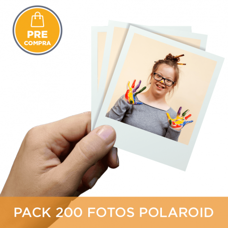 PRECOMPRA Pack 200 fotos Polaroid 10x8