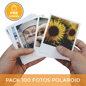 PRECOMPRA Pack 100 fotos Polaroid 10x8