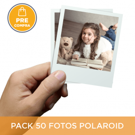PRECOMPRA Pack 50 fotos Polaroid 10x8